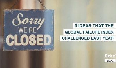 3 ideas that the Global Failure Index challenged last year