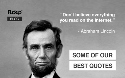 Some Of Our Best Quotes