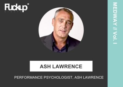 Ash Lawrence - performance physcologist