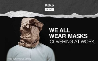 We all wear masks: covering at work