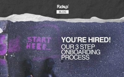 You are hired: our 3 step onboarding process