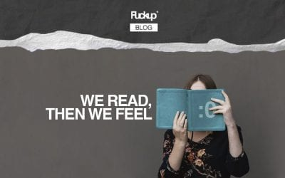We read, then we feel