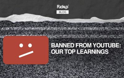 Banned from Youtube: Our top learnings